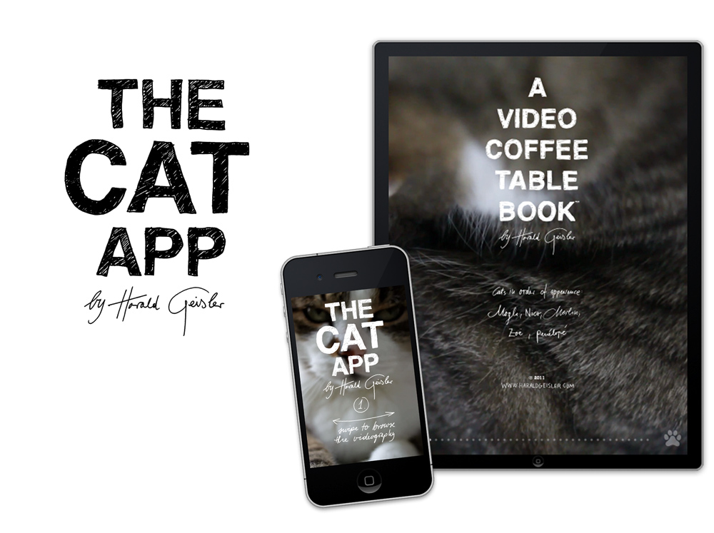 The Cat App by Harald Geisler