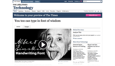 2015-06-05 You too can type in font of wisdom - The Times-Web