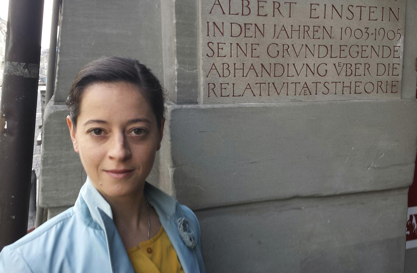 Portrait Elizabeth Waterhouse Einstein Haus Bern